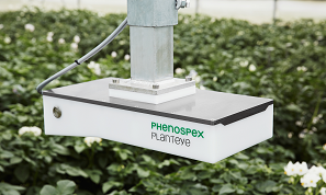 PlantEye 3D Laser scanner for Plant phenotyping  moving over a field