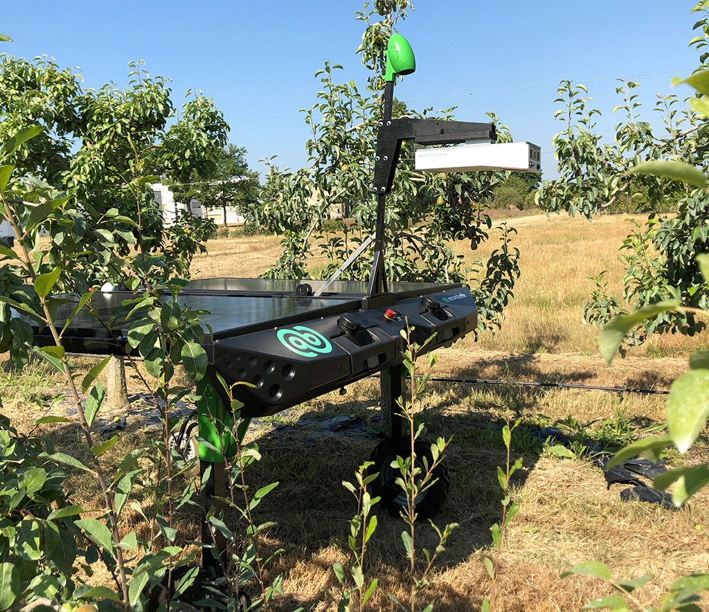 3D plant phenotyping with autonomous robots